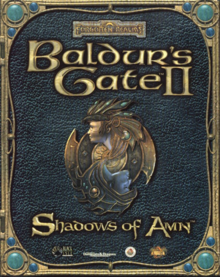 Baldur's Gate II Shadows of Amn 2000 Game Cover.PNG