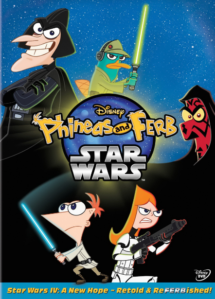 Disney Phineas and Ferb: Star Wars (2014)