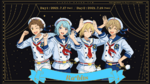 4th Starry Stage Rabits Unit Art