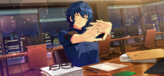 (Heading to Our Destination, the Path to Happiness) Tsumugi Aoba CG