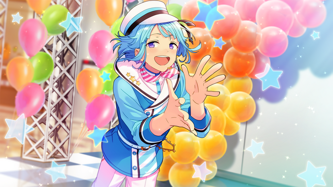 (Flower Blossoming Smile) Hajime Shino CG2.png