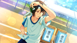 (Cheer in the Shade) Ritsu Sakuma CG