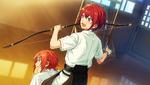 (Master of Equestrian Archery) Tsukasa Suou CG