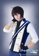 Ritsu Judge of Knights Stage Play Official