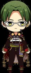 Keito Hasumi Chocolat Fes Outfit chibi.png