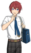 (In Search of the Cat) Tsukasa Suou Full Render Bloomed