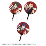 Star's Parade Clear Support Uchiwa Fan (August Unit Performance Ver.) AKATSUKI