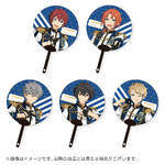 Star's Parade Clear Support Uchiwa Fan (August Unit Performance Ver.) Knights