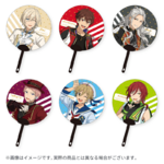 Star's Parade Clear Support Uchiwa Fan (July Unit Performance Ver.)