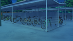 Bicycle Parking Station (Night - Dark) Full