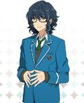 Tsumugi Aoba (Card) Frameless Bloomed