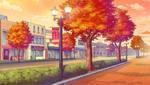 School Route (Autumn) (Evening) Full