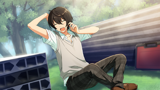 (Half Asleep) Ritsu Sakuma CG