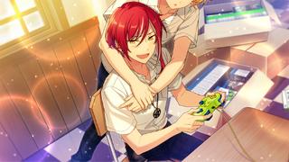 (Disaster Splash) Natsume Sakasaki CG