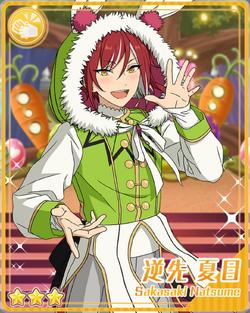(Gimmick of a Rabbit) Natsume Sakasaki Bloomed.png