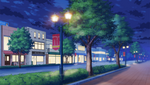 Yumenosaki Academy School Route (Night - Bright) Full
