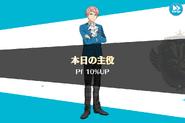 Shu Itsuki Birthday Performance 10% Up