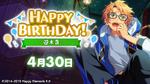 Makoto Yuuki Birthday 2021 Twitter Banner