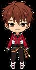 Chiaki Morisawa RYUSEITAI uniform chibi.png