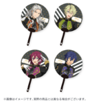 Star's Parade Clear Support Uchiwa Fan (July Unit Performance Ver.) Eden