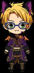 Makoto Yuuki Halloween Outfit chibi.png
