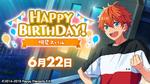 Subaru Akehoshi Birthday 2020 Twitter Banner