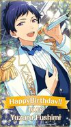 Happy Birthday Yuzuru Fushimi Wallpaper 1