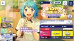 Hajime Shino Birthday 2021 Scout