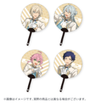 Star's Parade Clear Support Uchiwa Fan (July Unit Performance Ver.) fine