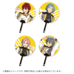 Star's Parade Clear Support Uchiwa Fan (August Unit Performance Ver.) CrazyB