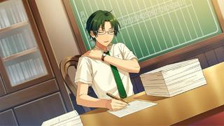 (Akatsuki's Brains) Keito Hasumi CG
