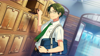 (Companions and Summer Night) Keito Hasumi CG
