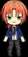 Leo Tsukinaga Summer uniform chibi.png