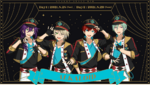4th Starry Stage ALKALOID Unit Art
