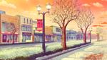 School Route (Winter) (Evening) Full