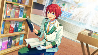 (Books and the First Challenge) Tsukasa Suou CG2