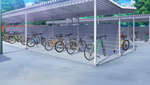 Bicycle Parking Station Full