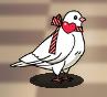 Star Medal Dove Valentine's Day