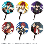 Star's Parade Clear Support Uchiwa Fan (August Unit Performance Ver.)