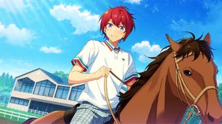 (Horse Riding and Pride) Tsukasa Suou CG
