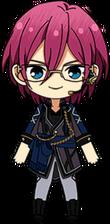 Ibara Saegusa Adam Uniform (With Headset) chibi.png