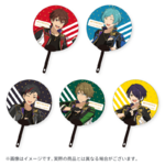 Star's Parade Clear Support Uchiwa Fan (July Unit Performance Ver.) RYUSEITAI