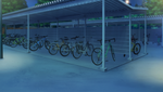Bicycle Parking Station (Night - Bright) Full