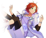 (Child of the Looking Glass) Yuta Aoi Full Render Bloomed