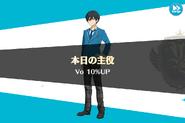 Hokuto Hidaka Birthday Vocal 10% Up