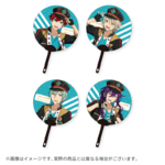 Star's Parade Clear Support Uchiwa Fan (August Unit Performance Ver.) ALKALOID