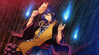 (Blue-Haired Onryo) Tsumugi Aoba CG2
