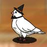 Star Medal Dove Halloween