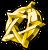 Flair Golden Pentagram.png