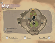 Mad Doctor's Lab Map